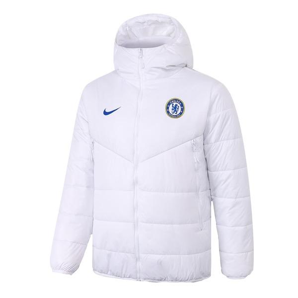 Челси Куртка утепленная белая Nike 2020-2021